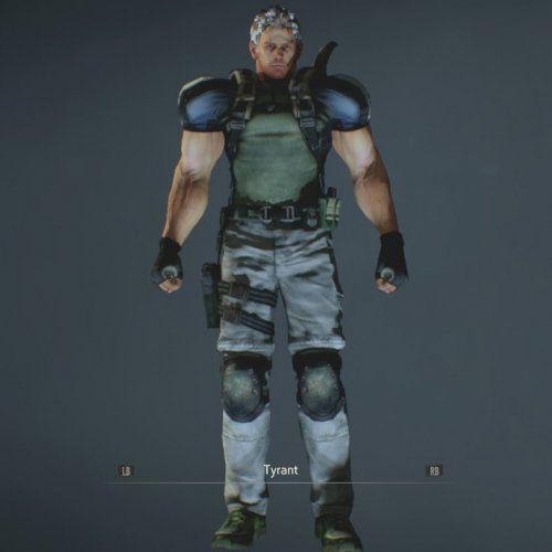 RE5 Chris Redfield BSAA (Mr. X)