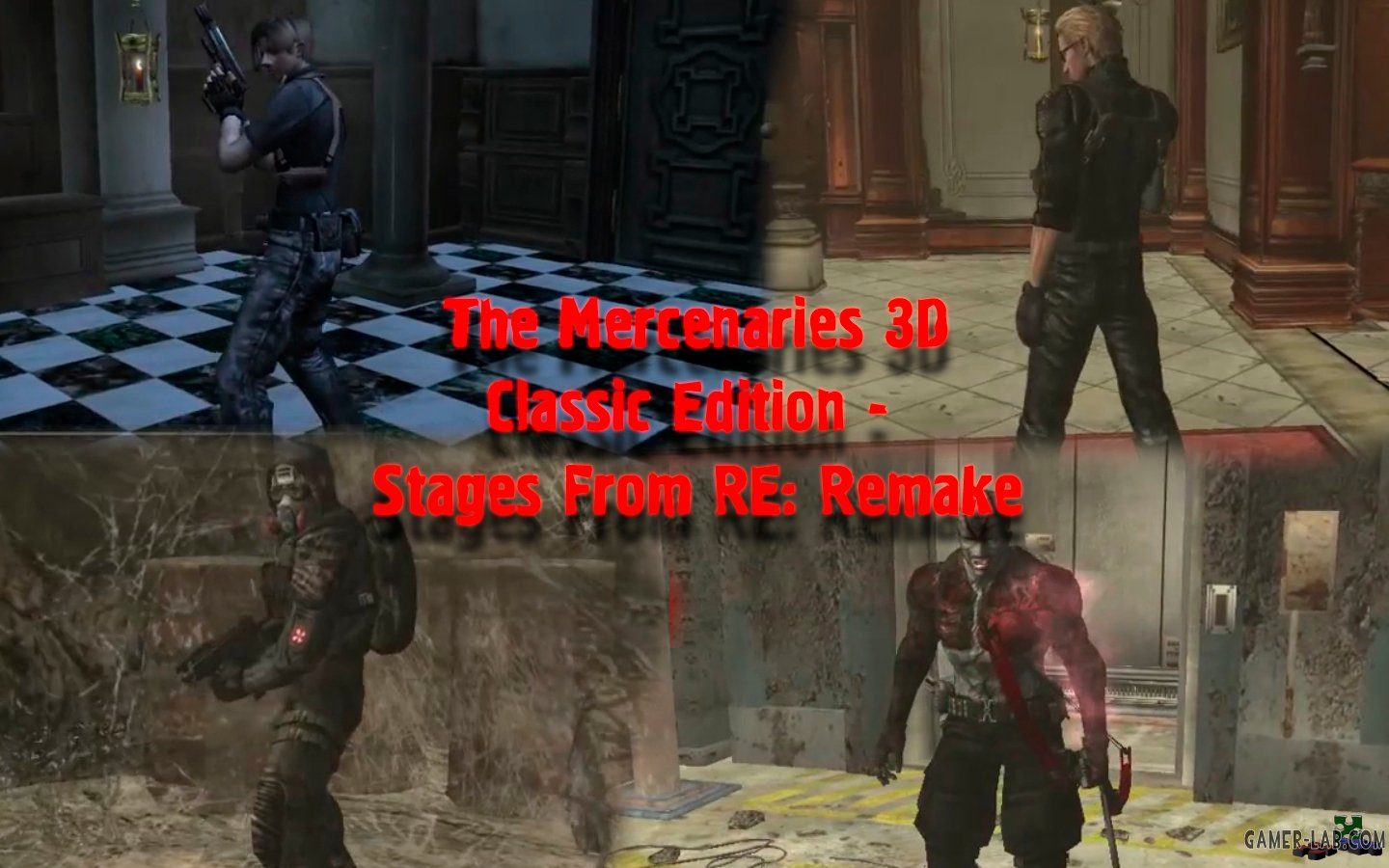 The Mercenaries 3D Classic Edition - Stages From RE: Remake